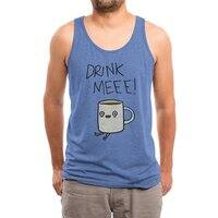 Drink Me Coffee - mens-triblend-tank - small view