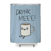 Drink Me Coffee - shower-curtain - small view