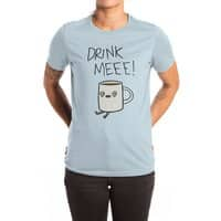 Drink Me Coffee - womens-extra-soft-tee - small view