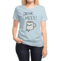 Drink Me Coffee - womens-regular-tee - small view