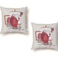 Self Portrait - throw-pillow - small view
