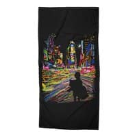 The City That Never Sleeps - beach-towel - small view