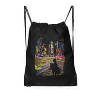 The City That Never Sleeps - drawstring-bag - small view