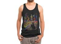 The City That Never Sleeps - mens-triblend-tank - small view