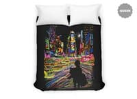 The City That Never Sleeps - duvet-cover - small view