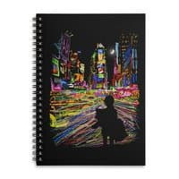 The City That Never Sleeps - spiral-notebook - small view