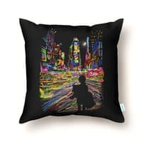 The City That Never Sleeps - throw-pillow - small view