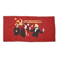 The Communist Party - beach-towel-landscape - small view