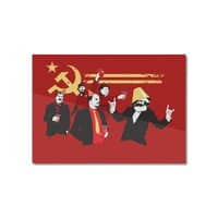 The Communist Party - horizontal-mounted-aluminum-print - small view