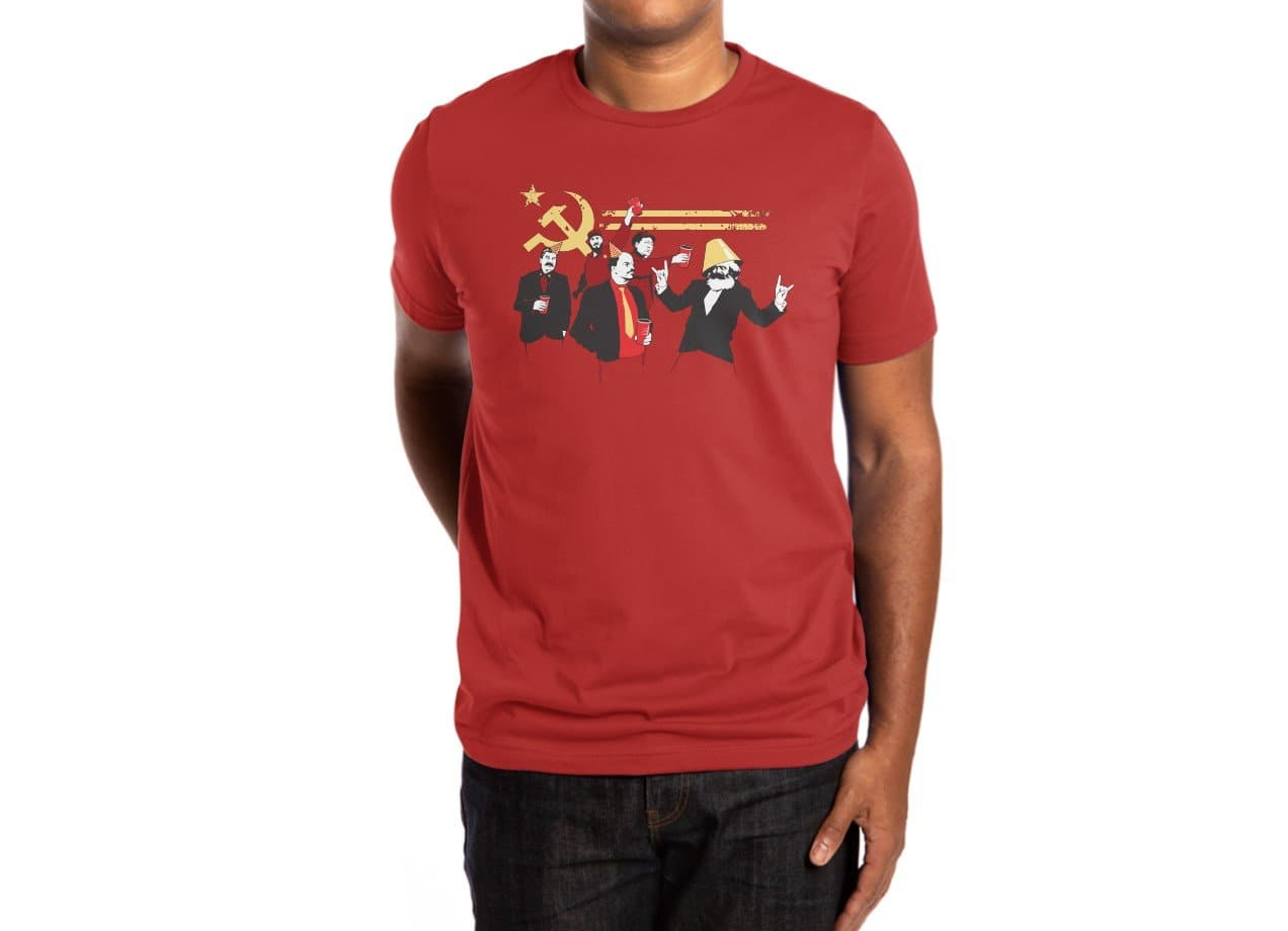 417f1cab ... The Communist Party - mens-extra-soft-tee - small view ...