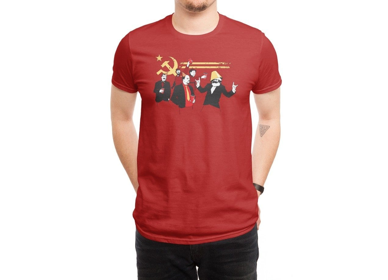 The Communist Party By Tom Burns Mens T Shirt Threadless