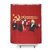 The Communist Party - shower-curtain - small view