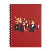 The Communist Party - spiral-notebook - small view
