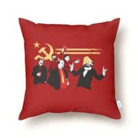 The Communist Party - throw-pillow - small view