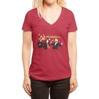 The Communist Party - womens-deep-v-neck - small view