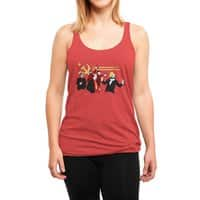The Communist Party - womens-triblend-racerback-tank - small view
