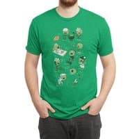 Lawn of the Dead - mens-triblend-tee - small view