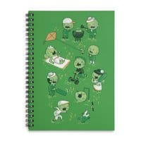Lawn of the Dead - spiral-notebook - small view