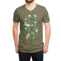 Lawn of the Dead - vneck - small view