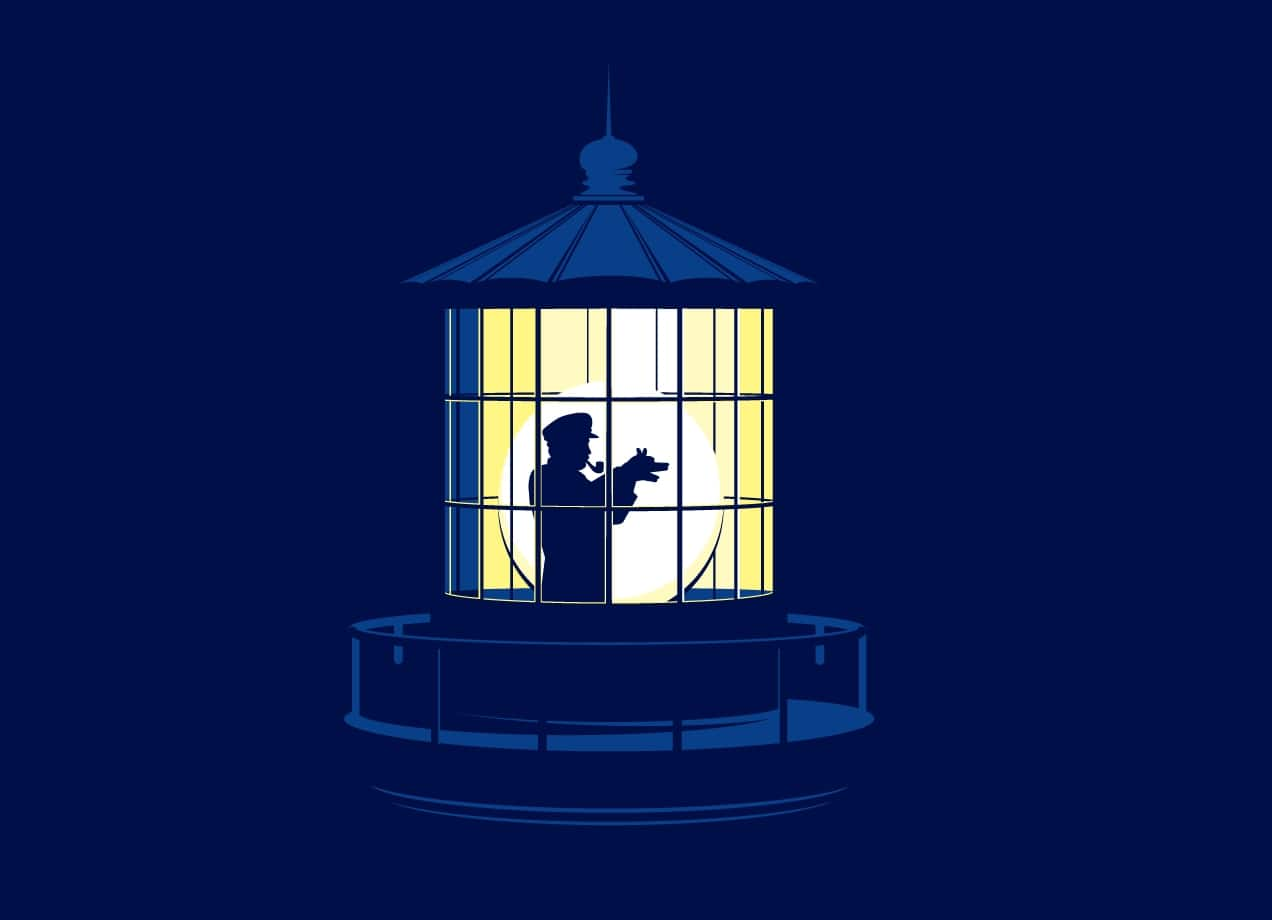 Lonely Lighthouse Keeper By Glenn Jones Threadless