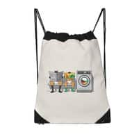 Alfred's Day Off - drawstring-bag - small view