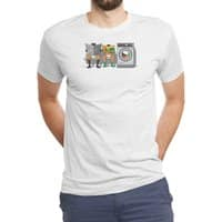 Alfred's Day Off - mens-triblend-tee - small view