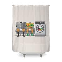 Alfred's Day Off - shower-curtain - small view
