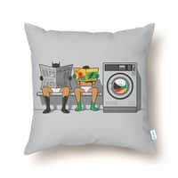 Alfred's Day Off - throw-pillow - small view