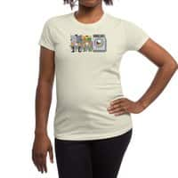 Alfred's Day Off - womens-regular-tee - small view