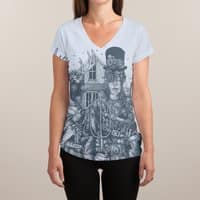 American Steampunk - womens-sublimated-v-neck - small view