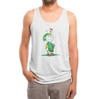 A Hero Named... - mens-triblend-tank - small view