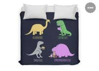 Omnomnomnivore - duvet-cover - small view
