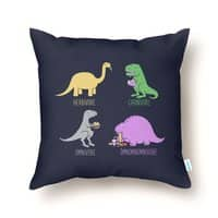 Omnomnomnivore - throw-pillow - small view