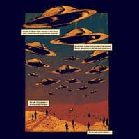 The Day The Saucers Came, Issue 1, Vol. 6 - small view