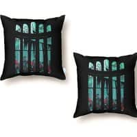 The Plague - throw-pillow - small view