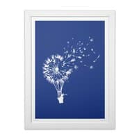 Going Where the Wind Blows - white-vertical-framed-print - small view