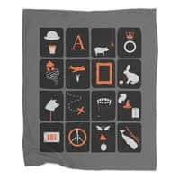Pictures and Conversations - blanket - small view
