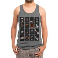Pictures and Conversations - mens-triblend-tank - small view