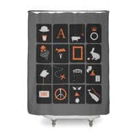 Pictures and Conversations - shower-curtain - small view