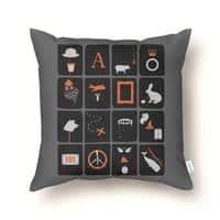 Pictures and Conversations - throw-pillow - small view