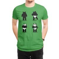 Bank Robbery Bear - mens-regular-tee - small view