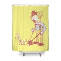 Cleaning Up - shower-curtain - small view
