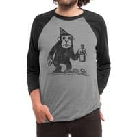 M For Monkey - triblend-34-sleeve-raglan-tee - small view