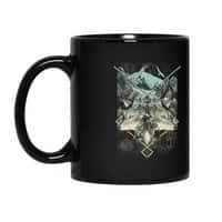 Natural Collapse - black-mug - small view