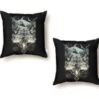 Natural Collapse - throw-pillow - small view