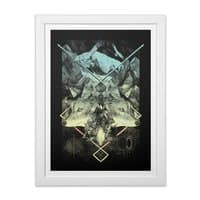 Natural Collapse - white-vertical-framed-print - small view