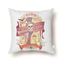The Greatest Spectacle Ever! - throw-pillow - small view