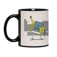 Freddie Mercury - black-mug - small view