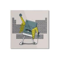 Freddie Mercury - square-mounted-aluminum-print - small view