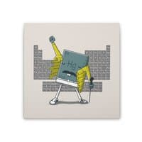 Freddie Mercury - square-stretched-canvas - small view